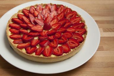 Tarte aux fraises Val-de-Rueil